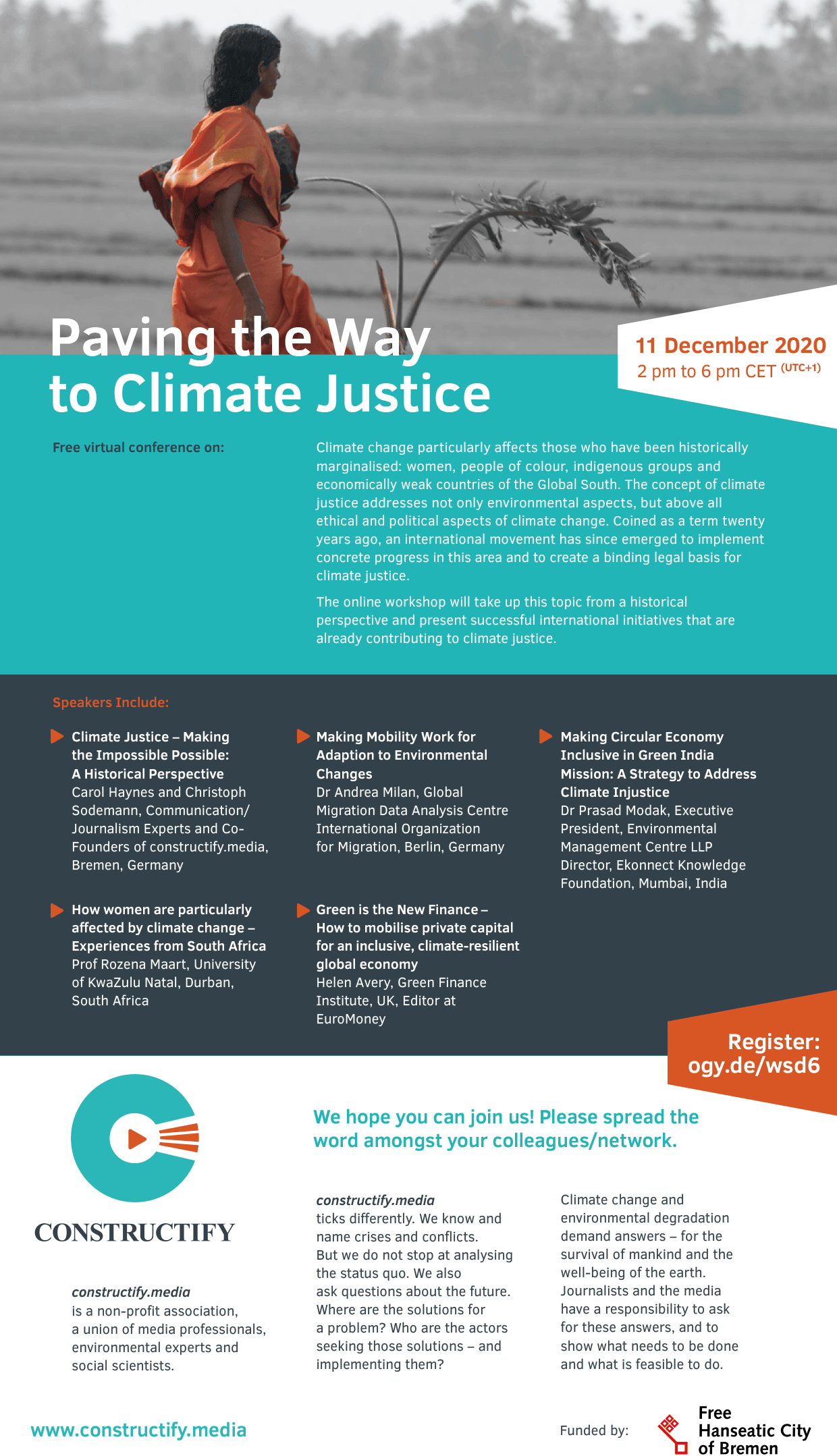 Workshop Invitation: Paving the Way to Climate Justice